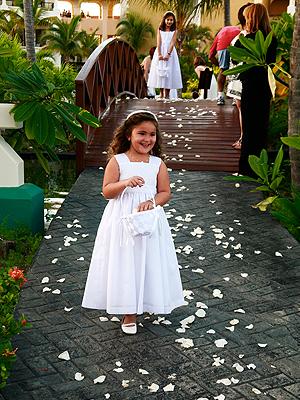 Flower Girl,Letrero, Boda Bárbara Bermudo