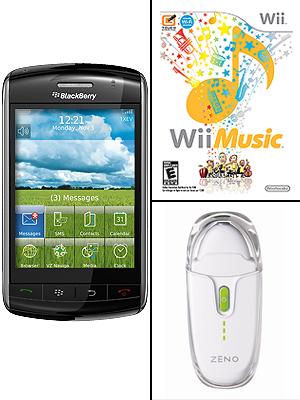 Blackberry Storm, Zeno Mini, Wii Music