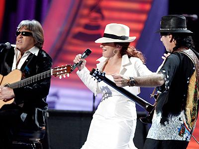 Gloria Estefan, José Feliciano, Santana