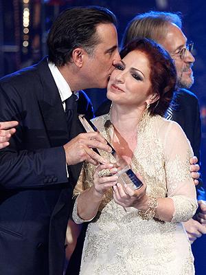 Gloria Estefan, Andy Garcia, Andy García