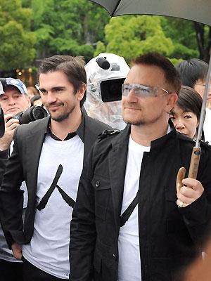 Juanes y Bono