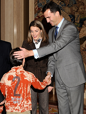 Letizia Ortíz, Príncipe Felipe de Asturias