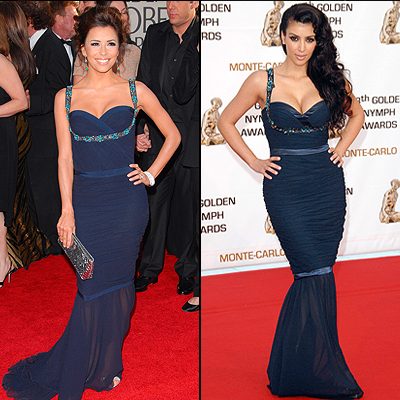 Eva Longoria, Kim Kardashian