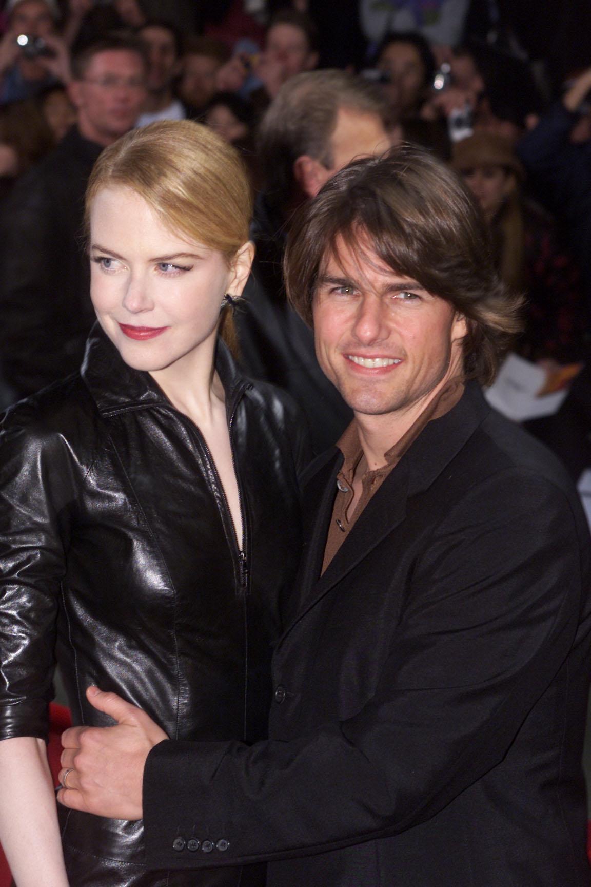 Nicole Kidman y Tom Cruise, rupturas