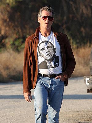 Pierce Brosnan, Presidente