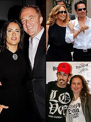 Salma Hayek, Jennifer López, Mac Anthony, Kate del Castillo, Aarón Díaz, Mejor+Peor 2008