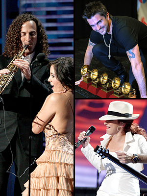 Kenny G, Kaime Lozano, Juanes, Gloria Estefan
