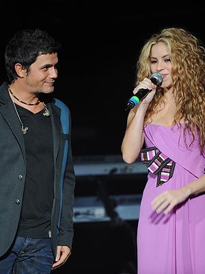 Shakira, Alejandro Sánz