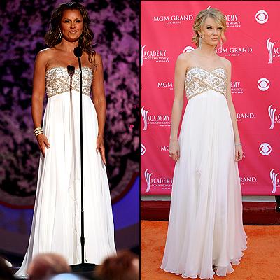 Vanessa Williams, Taylor Swift, twins