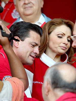 Angélica Rivera, Enrique Peña Nieto, Now and Then, Parejas