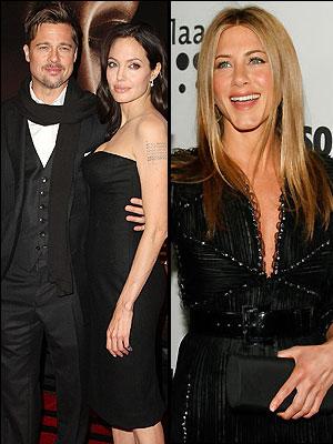 Jennifer Aniston, Angelina Jolie, Escandalo 2008