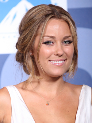 Lauren Conrad, Holiday Hairstyles