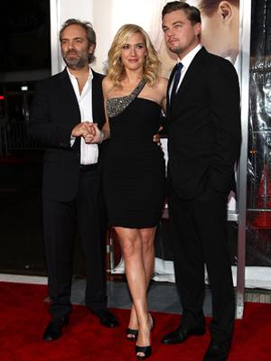 Sam Mendes, Kate Kinslet, Leonardio DiCaprio