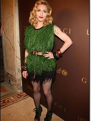 Madonna, Peor vestidos 2009