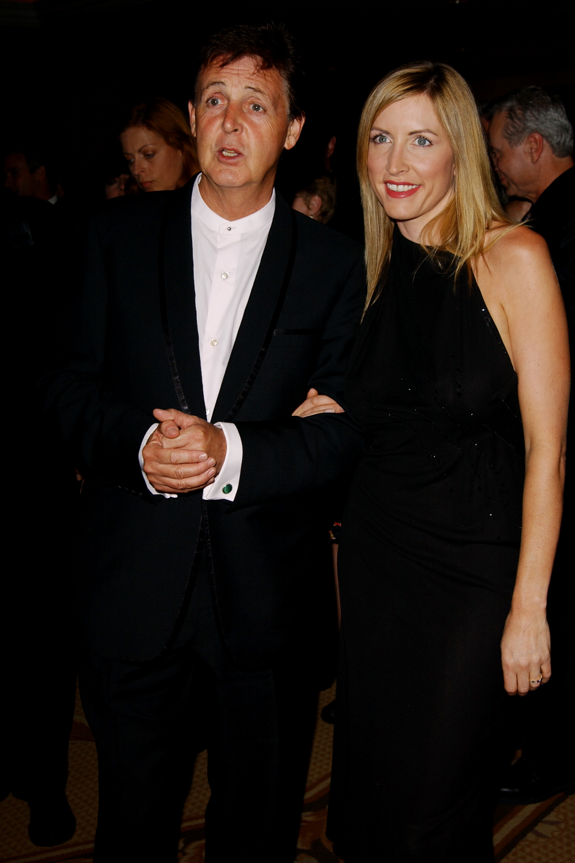 Paul McCartney y Heather Mills, escandalo 2008