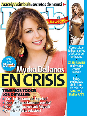 Portada noviembre, Myrka Dellanos en crisis