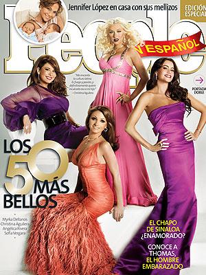 Los 50 Más Bellos 2008, portada