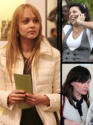 Gaby Spanic, Eva Longoria, Jennifer Garner, Principal