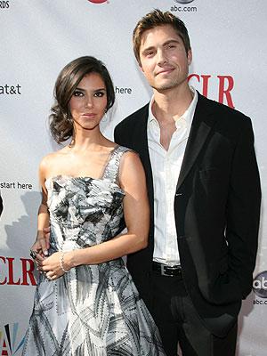 Roselyn Sanchez, Eric Winter, bodas 2008