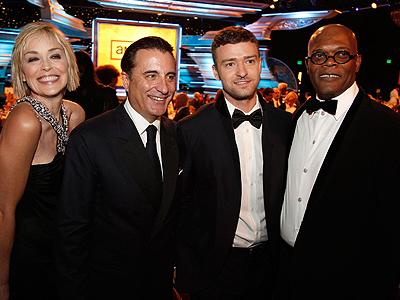 Sharon Stone, Andy Garcia, Justin Timberlake, Samuel L. Jackson