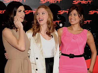 Paz Vega, Scalett Johansson, Eva Mendes