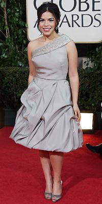 America Ferrera, Golden Globes mal vestidos