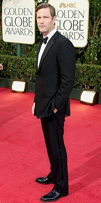 Aaron Eckhart, Golden Globes Bien Vestidos