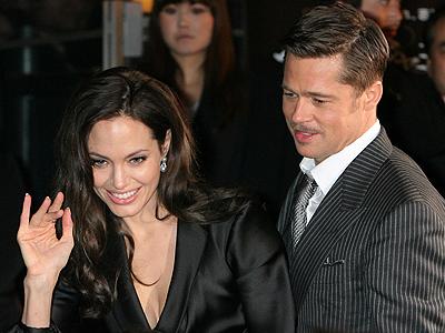 Brad Pitt, Angelina Jolie, The Curious Case of Benjamin Button