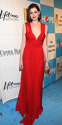 Anne Hathaway, The Creative Coalition's 2009 Inaugural Ball