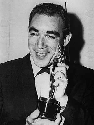 Anthony Quinn, Oscares