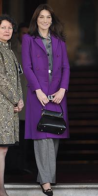 Carla Bruni, Moda de primeras damas