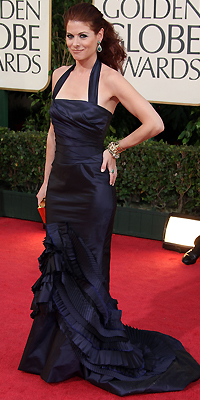 Golden Globes Bien Vestidos, Debra Messing