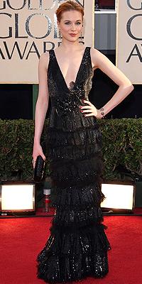 Evan Rachel Wood, Golden Globes bien vestidos