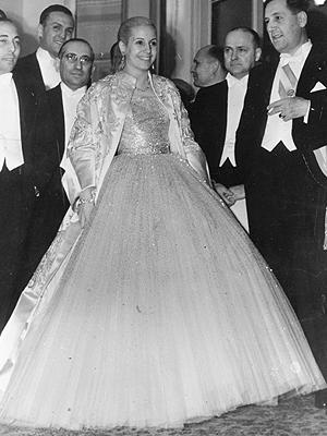 Eva Perón, Moda de primeras damas
