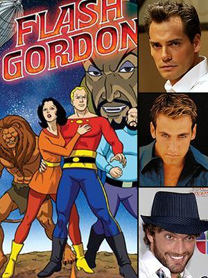 Flash Gordon, Cristián de la Fuente, Julián Gil, Carlos Ponce
