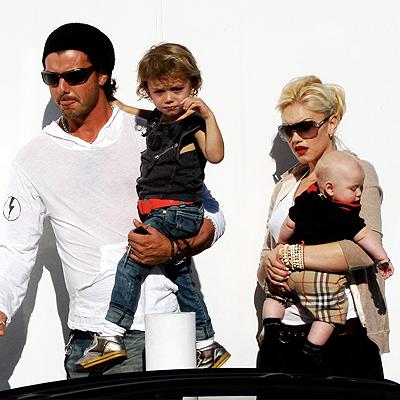 Gwen Stefani, Gavin Rosedale e hijos