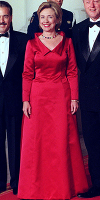 Hillary Clinton, Moda de Primeras damas