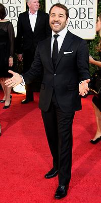 Jeremy Piven, Golden Globes bien vestidos