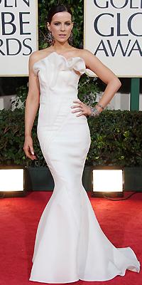 Kate Beckinsale, Golden Globes Bien Vestidos