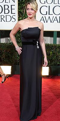Kate Winslet, Golden Globes bien vestidos