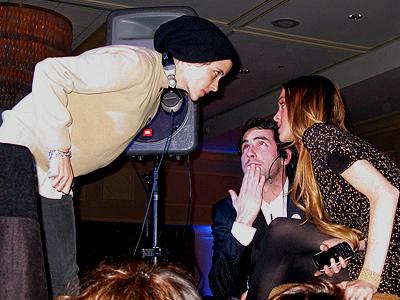 Lindsay Lohan, Samantha Ronson, Discutiendo