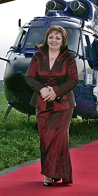 Lyudmilla Putin, Moda de Primeras damas