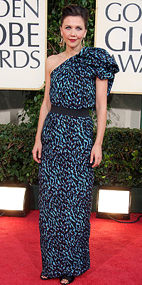 Maggie Gyllenhaal, Golden Globes Mal Vestidos