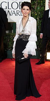 Marisa Tomei, Golden Globes mal vestidos