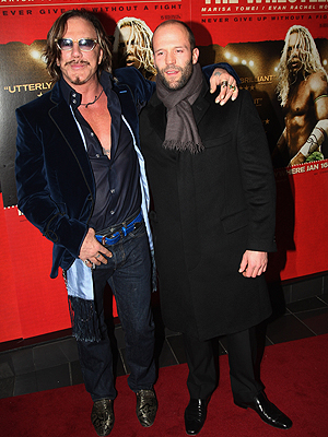 Mickey Rourke, Jason Statham