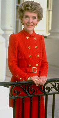 Nancy Reagan, Moda de primeras damas