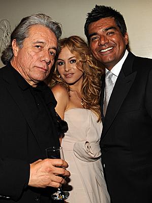 Edward James Olmos, Paulina Rubio, George López, Gala Inaugural Latina