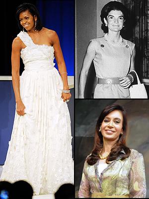 Principal, Moda de primeras damas, Michelle Obama, Jacqueline Kennedy, Cristina Fernández
