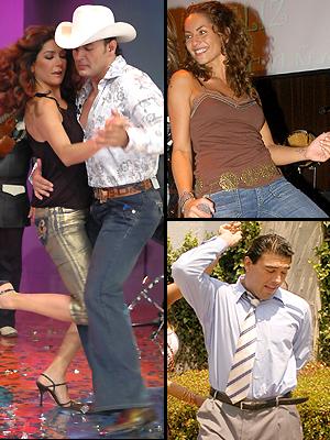 Principal galería Bailadores, Eduardo Yáñez, Patricia Manterola, Latin Lover