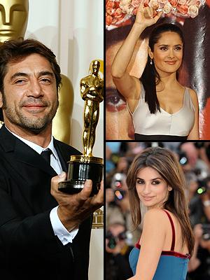 Principal Latinos Oscar, Salma Hayek, Javier BArdem, Penélope Cruz